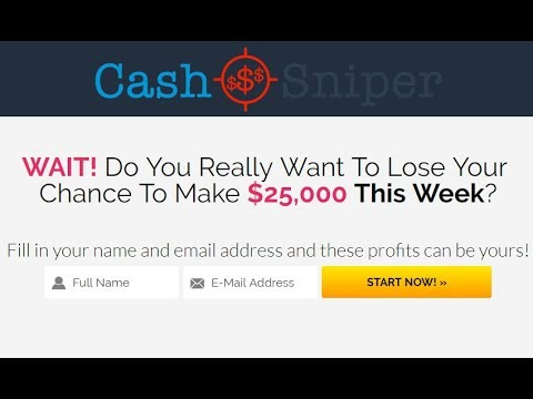 CashSniper Review - Does It Truly Work Or Scam?